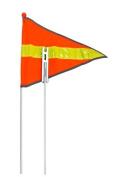 Sunlite 2-Piece Safety Flag - 182.9cm , Reflective