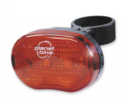 "Planet Bike Blinky ""7.6cm 3-Led Rear Bicycle Light"