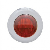 Pro-One Performance 402230 MINI MRKR DUA RED LED/CLR LENS
