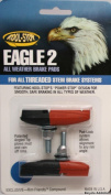 Kool Stop Eagle-Claw 2 pads, threaded - dual