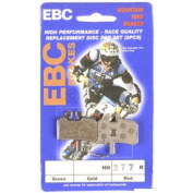 EBC Disc Brake Pads Hayes, Red