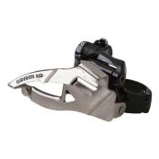 SRAM X0 2x10 Hi Clamp Compact Front Derailleur - 34.9mm, 39T Max, Top Pull