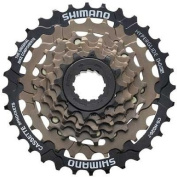 Shimano CS-HG20 7-Speed Cassette, Brown, 12-31T