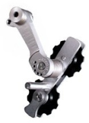 Paul Components Melvin 1-spd chain tensioner, silver
