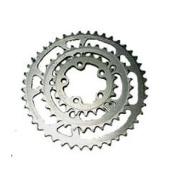 Vuelta 6061 8-Speed 5-Arm Chainring, 42Tx94mm, Silver
