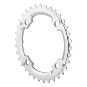Race Face Race Chainring, 104mm, 36T, Silver