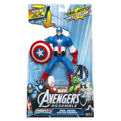The Avengers Mighty Battlers Action Figures - Final Justice Captain America