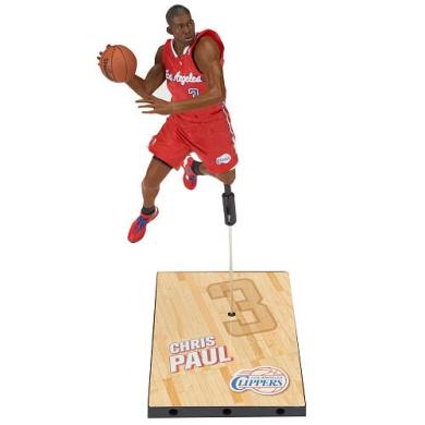 NBA Series 21 Los Angeles Clippers 18cm Action Figure - Chris Paul