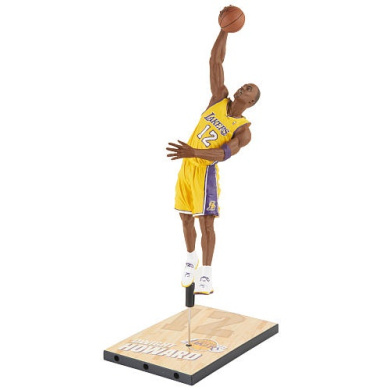NBA Series 22 Los Angeles Lakers 18cm Action Figure - Dwight Howard