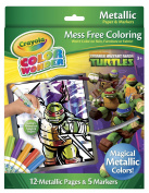 . Colour Wonder Metallic Colouring Set - Teenage Mutant Ninja Turtles