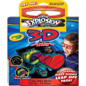 . Colour Explosion 3-D Pad and Marker Set