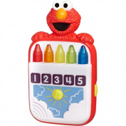 Sesame Street Playskool Steps To School Toy - Elmo's Count Along Crayons