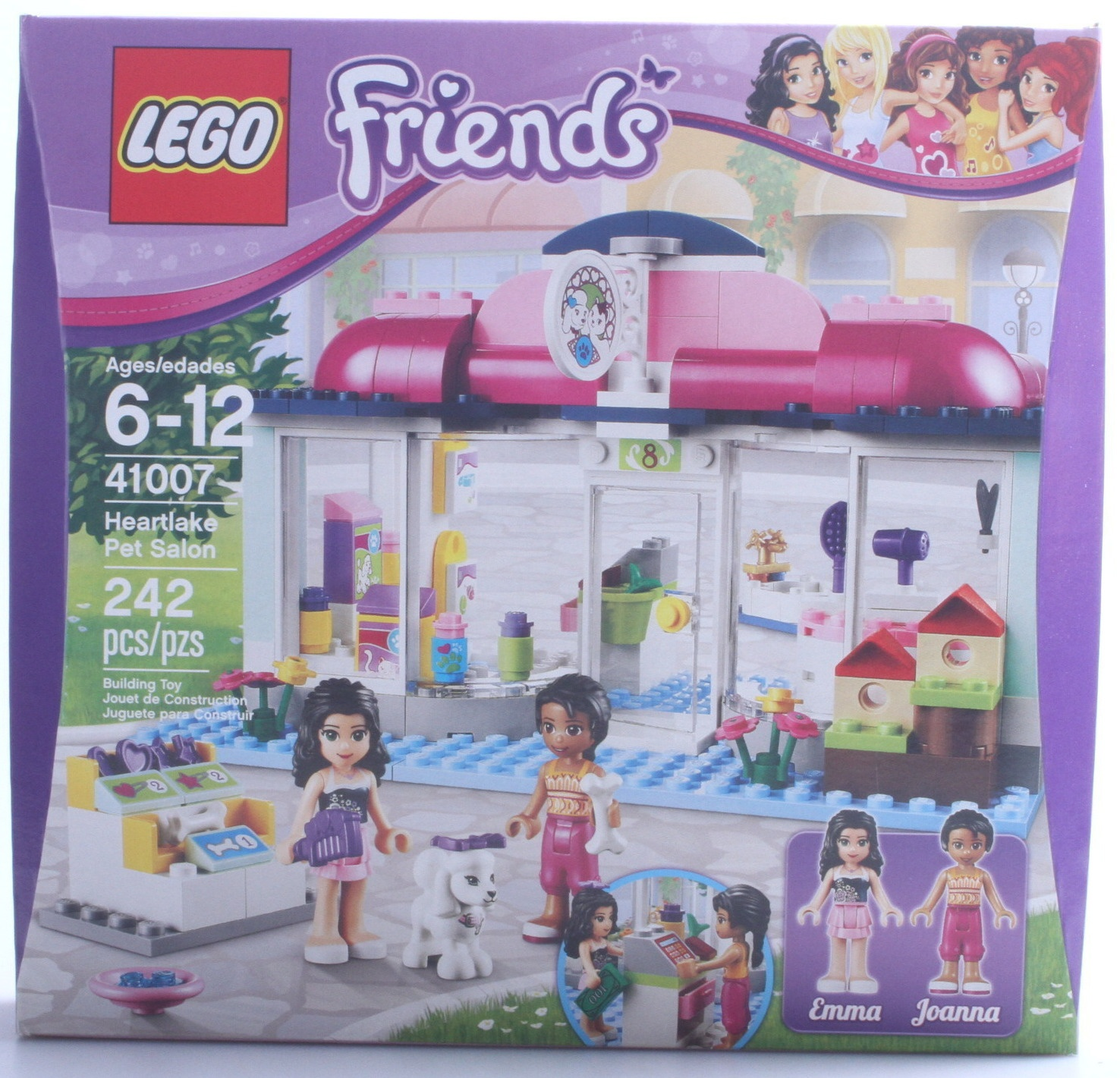 Friends Heartlake Salon Lego Friends Lego Pet Pet Heartlake bf76yIgmYv