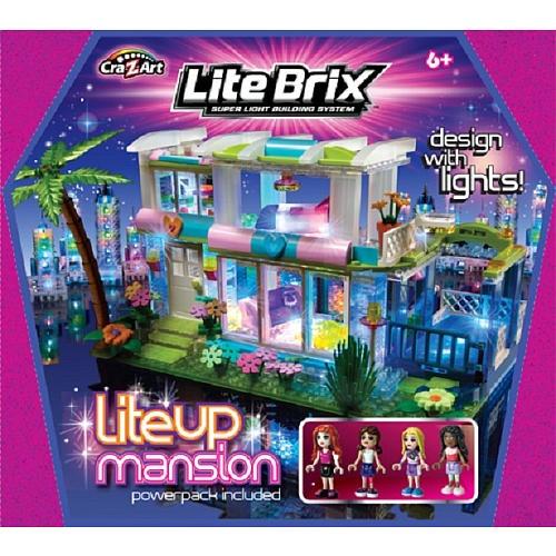 Cra-Z-Art Lite Brix Lite Up Mansion by CRA-Z-ART - Shop Online for ...