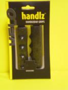 HANDLZ HANDLEBAR GRIPS BLACK GLITTER