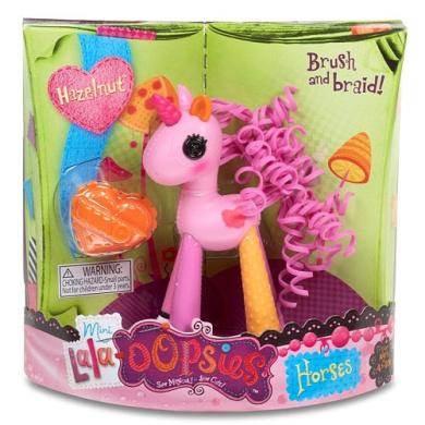 Lala-loopsies - Mini Lala Oopsie Horses - Hazelnut - MGA