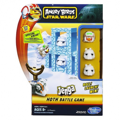 Angry Birds Star Wars Jenga - Hoth Battle Game