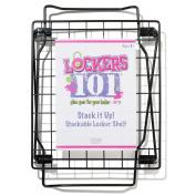 Lockers 101 Stack It Up Shelf - Black