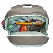 Lassig Kindergarten Backpack Big / Children's Rucksack Big, Starlight Olive