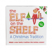 Elf on the Shelf Blue Eyed Boy Book