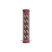 Redline Flight Locking Grips - Expert 120mm x 30mm Clear/Red