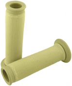 Renthal Road Dual Compound Grips with Kevlar Brand Resin 32mm Firm Yellow 32MM DUAL COMP W/KEVLAR