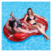 Poolmaster Red Duo Circular Lnge