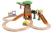 Chuggington Wooden Railway Train Set - Koko Safari Set