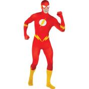 Men s Flash Skin Suit Halloween Costume Size