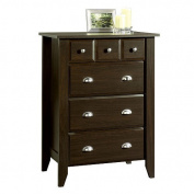Childcraft by Sauder Shoal Creek 4 Drawer Chest - Jamocha Wood