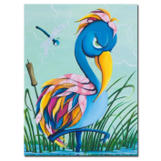 Trademark Games 'Showbird' Canvas Art