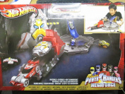 Hot Wheels Power Rangers Megaforce Action Playset