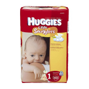 Huggies Little Snugglers Jumbo - Size 1 - 40ct