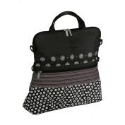 Lassig Casual Buggy Multimix Nappy Bag - Black