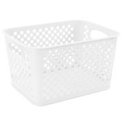 Creative Bath Large Tote - Frost White