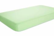 aden by aden + anais 100% Cotton Muslin Crib Sheet - Solid Sage