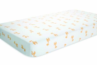 aden by aden + anais 100% Cotton Muslin Crib Sheet - Safari