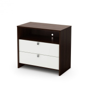 South Shore Cookie Changing Table - Mocha/ White