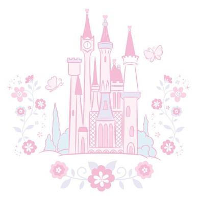 Disney Baby Cinderella Wall Decals