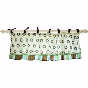 My Baby Sam Brown, Green Forget Me Not Valance