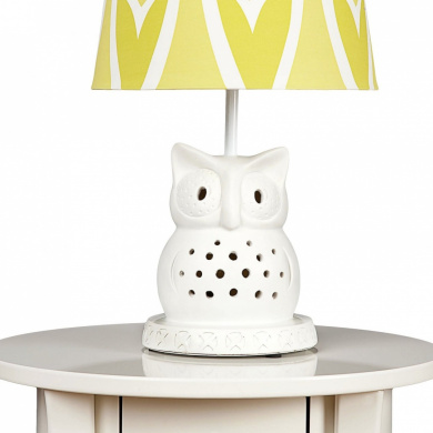 Living Textiles Lolli Living Lamp Base - Owl