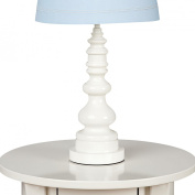 Living Textiles Lolli Living Lamp Base - White Spindle