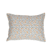 Organic Boudoir Pillow - Dots