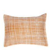 Organic Boudoir Pillow - Plaid
