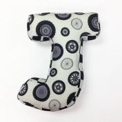 One Grace Place - Teyo's Tires' Letter Pillow J