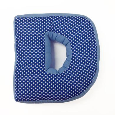 One Grace Place - Simplicity Blue's Letter Pillow D