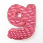 One Grace Place - Simplicity Hot Pink's Letter Pillow G