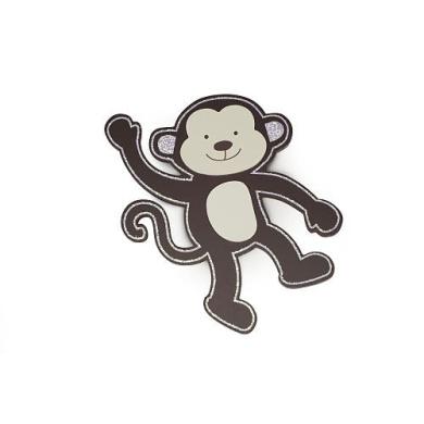 BabyShop By Design Wood Wall Decor - Monkey