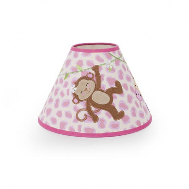 BabyShop By Design Girl Monkey Lamp Shade