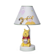 Disney Baby Peeking Pooh and Friends Lamp Base and Shade